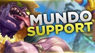 Mundo is STILL BROKEN! - Support - Full Gameplay Commentary