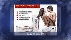 Prosolution Gel Detailed Facts and Benefits. Watch Before You Buy
