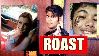 ROAST !!! CAR ME Aisi Video | Cockroach Ke Sath Selfie ?
