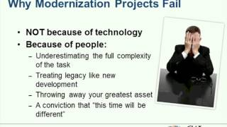 Why Legacy Modernization Projects Fail, and How to Ensure Success