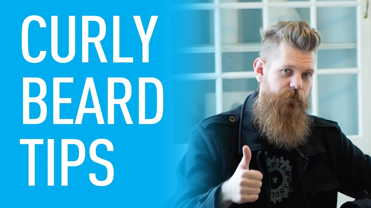 How To Deal With Curly Beards Eric Bandholz Youtube