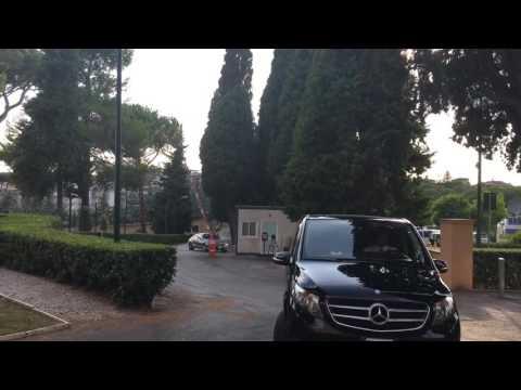 Thomas Vermaelen arriva a Villa Stuart per le visite mediche prima di firmare con la Roma