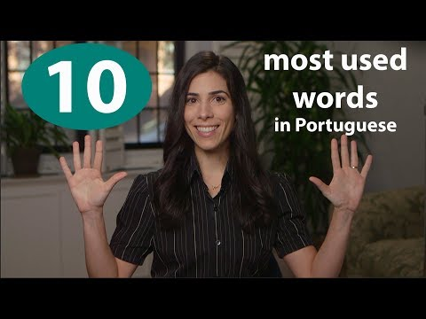 Brazilian Portuguese Vocabulary - 100 most used words 410 - Speaking Brazilian