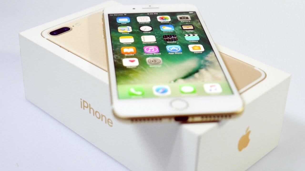 Реплика (точная копия) iPhone 7 plus распаковка, айфон 7 плюс .