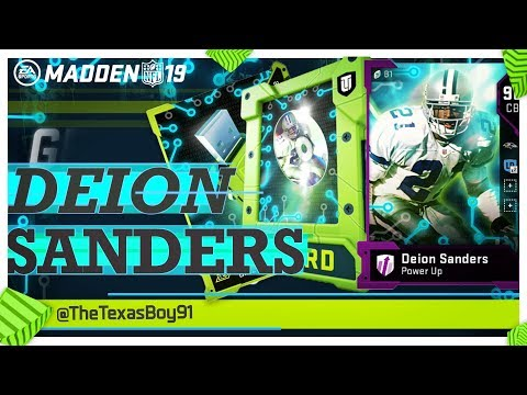 Get 3 93s & One 95 | Best Sets To Do To Complete Deion Sanders | Madden 19 Ultimate Team