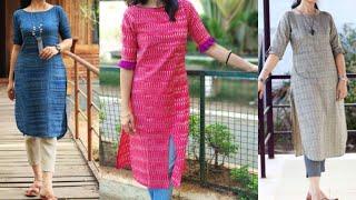 Cotton kurta design with pants/new kurta pants ideas for office colleges wear