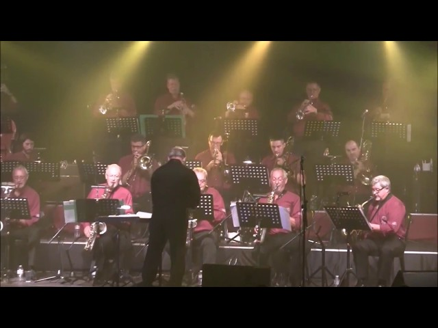 Freddy Sunder bigband in Oostende (2016)