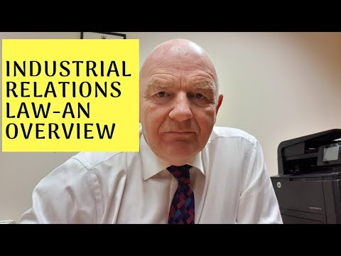 Industrial Relations Law in Ireland-An Overview for Small Business Owners