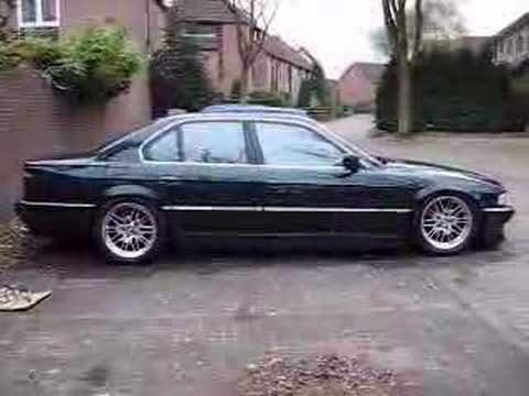 Air Ride Bmw 740i Youtube