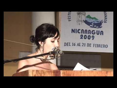 Lectura de Mayra Oyuela (Honduras)