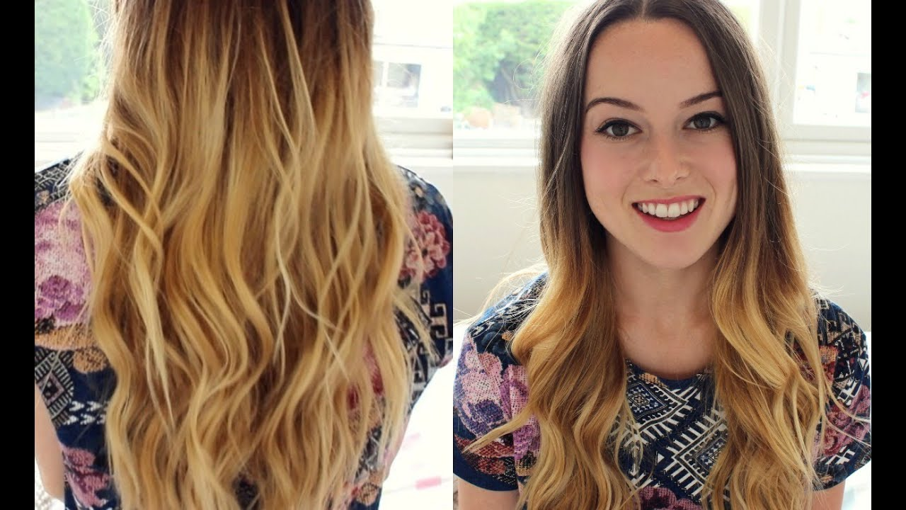 My ombre hair care routine youtube - Ombre hair carre ...