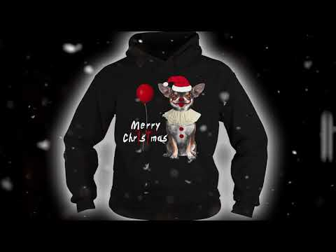 Merry Christmas Chihuahua Dog Funny Gifts T-shirt And Mug
