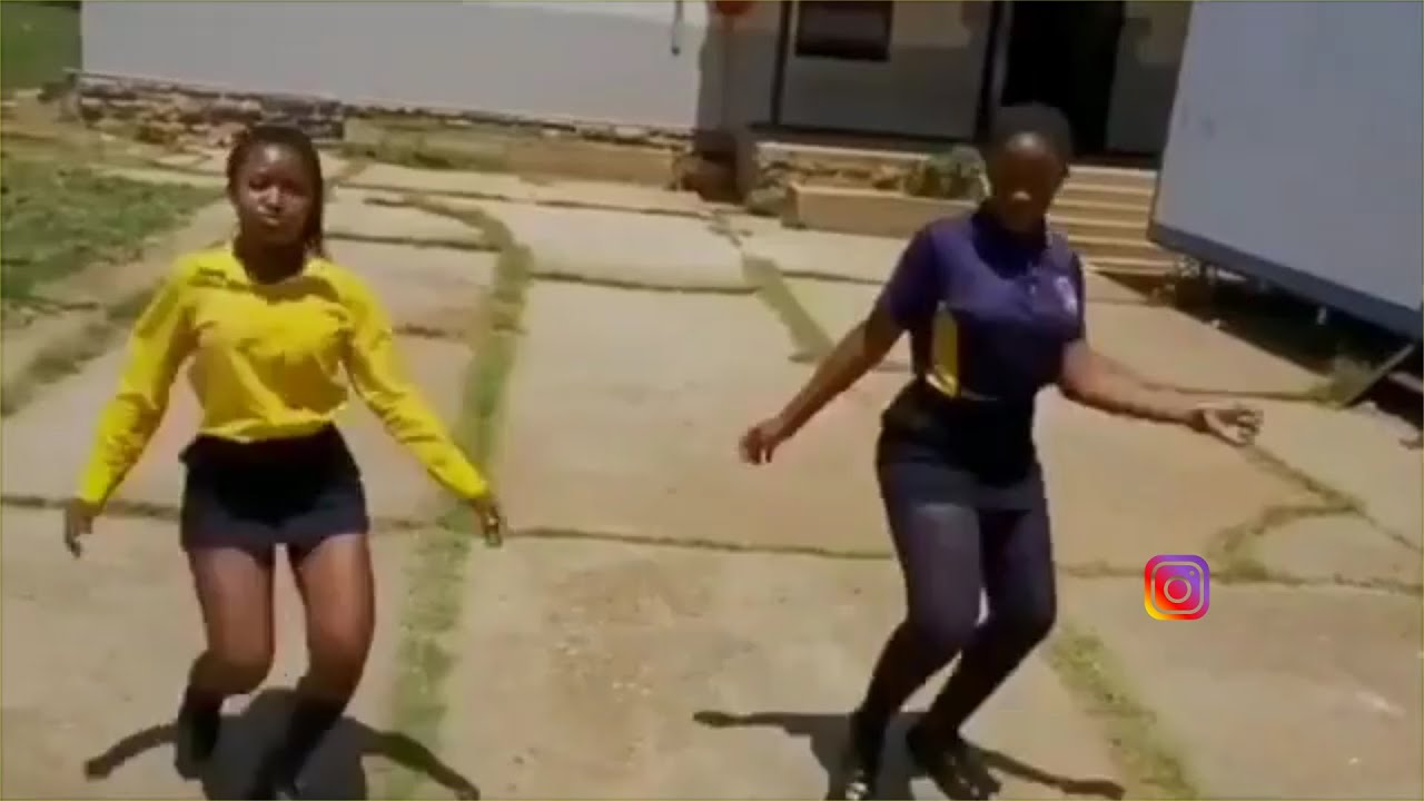 AMAPIANO DANCE MOVES BY SCHOOL GIRLS 2020
