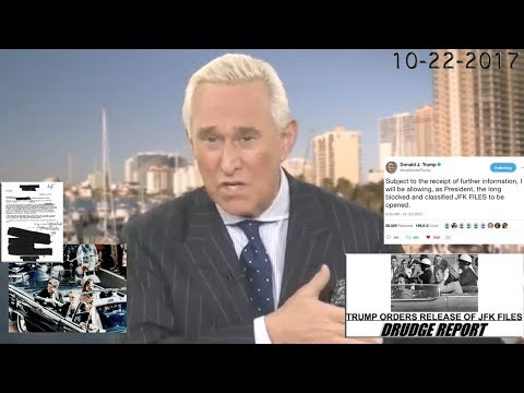 Roger Stone Discusses JFK and Classified Files Release Authorized by President Trump