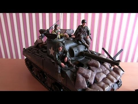 Project Man Cave Part 5 - Forces of Valor 1:16 Scale M4A3 Sherman