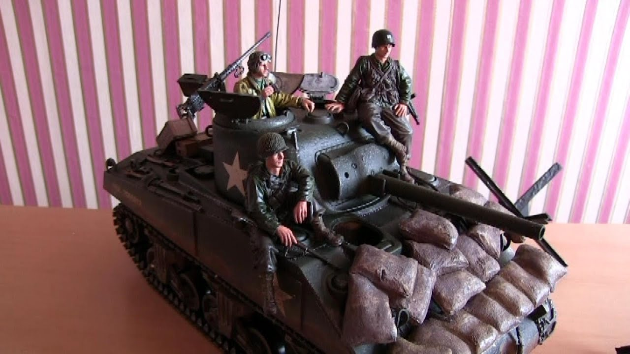 Man Cave With Tank : Project man cave part 5 forces of valor 1:16 scale m4a3 sherman