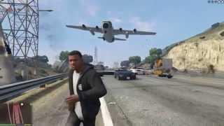 Angry Planes Mod (cleaned) - GTA V PC