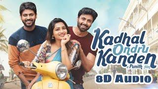 Download Lagu Kanna veesi - 8D Lyrical video | Album Song | Kadhal ondru Kanden | Tamil | MYOOZIK NATION mp3