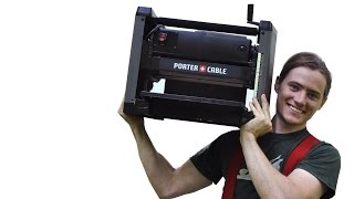 "Porter Cable 12.5"" Portable Planer - Pc305tp - Full Review!!!"