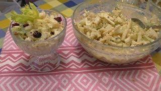 Салат УДИВИТЕЛЬНЫЙ!Вкусный,витаминный.питательный из сельдерея и яблок! Ешь и худей!
