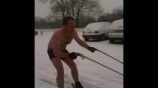 Snow Joke Part 2 Daz Pug Skiing