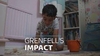 Grenfell's lasting impact on children's mental health