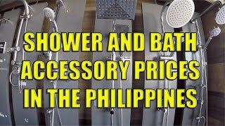 Shower and Bathroom Accessory Prices In The Philippines