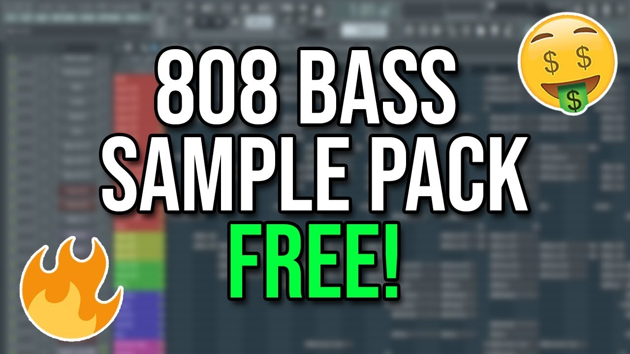Free 808 bass sample pack youtube.