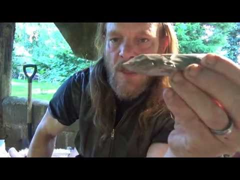 Prehistoric Experiences: How to make a Mesolithic flint adze head.