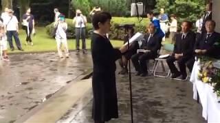 【動画有】福島瑞穂が千鳥ヶ淵で大暴言!「戦没者を地中から蘇らせ、力を合わせて安倍政権と戦う」