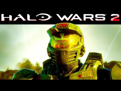 """Halo Wars 2 - CAMPAIGN Gameplay - Mission 3 """"Ascension"""" (PC)"""