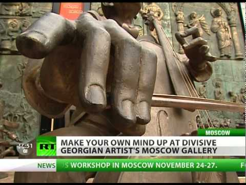 Tsereteli Gallery : Moscow's most controversial art museum