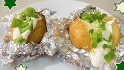 Diese Ofenkartoffeln mit Sour Cream haben Suchtfaktor, übernehme keinerlei Haftung, lach!