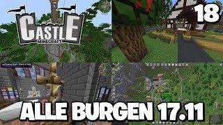 ALLE BURGEN Update vom 17.11! 🏰 Minecraft CASTLE #18   Clym