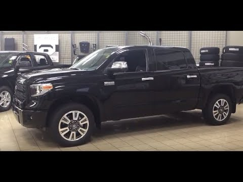 2018 toyota tundra platinum review youtube. Black Bedroom Furniture Sets. Home Design Ideas