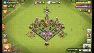 Clash of clans: meu cv 4 ta full?