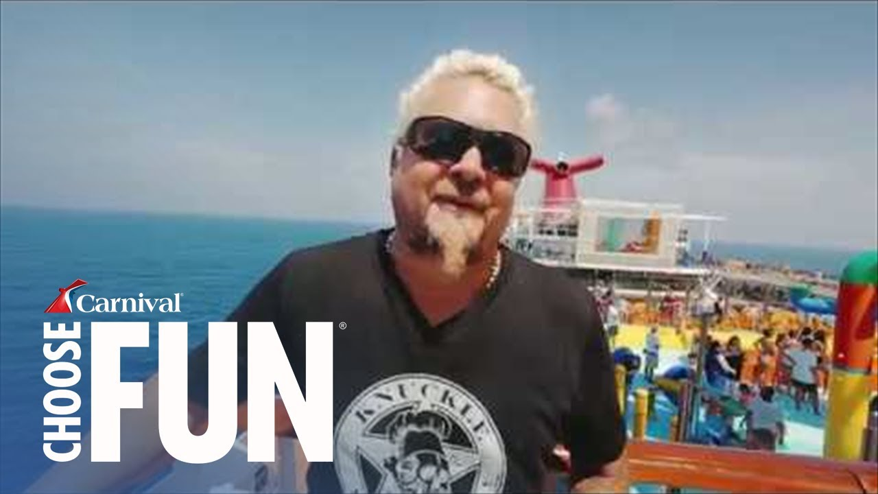 Guy Fieri's Family Vacation on Carnival | Carnival Cruise Line