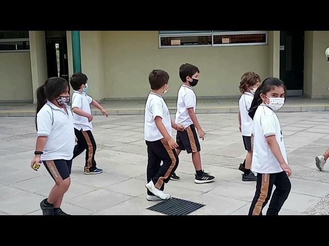 Primer simulacro de evacuación en caso de sismo Colegio Pumahue Chicauma