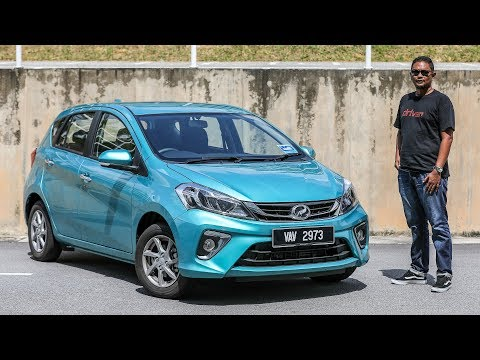 Perodua Myvi 2018 baru / Sirion - review Bahasa Malaysia, ujian 0-100 km/j, ASA, minyak & NVH