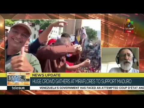 Writer & Activist Nino Pagliccia Reacts to Events in Venezuela