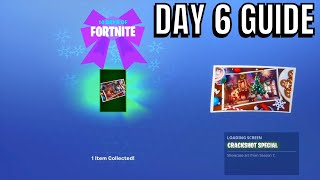 Fortnite 14 days of Christmas day 6 rewards (Guide)