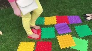 Массажные коврики любят не только детки, но и их родители. Родительский обзор ОРТО ПАЗЛ