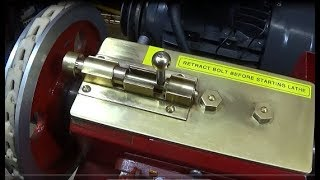 My New Chinese Mini lathe Indexing Pin Assembly & New Tools