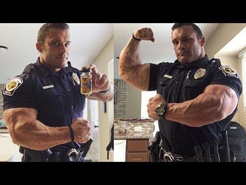 5 огромных полицейских-бодибилдеров, с которыми лучше не связываться!