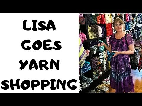 YARN SHOPPING @ ABERDEEN'S WOOL CO. (Lindsay, ON Canada)