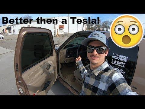 I Have A Tesla Dash! Chevy K1500 Silverado IPad Dash