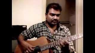 Maanikka Veenai in Acostic Guitar..