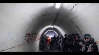 Étoile rouge de Belgrade-PSG : l'étouffant tunnel du stade Marakana