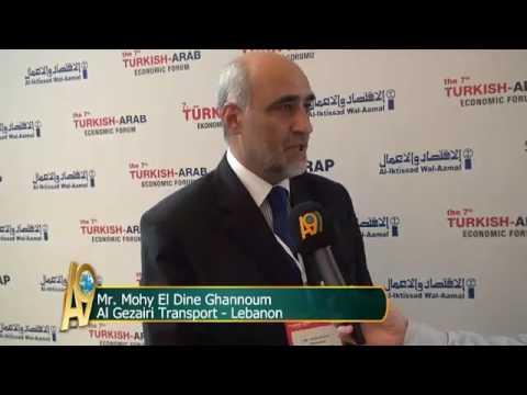 Mr. Mohy El Dine Ghannoum, Al Gezairi Transport – Lebanon