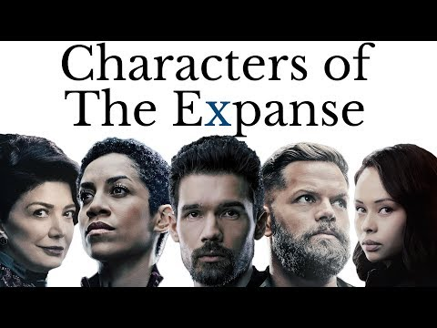 Characters of The Expanse (recap for Season 4)